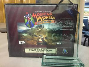 We WON a trophy!!!